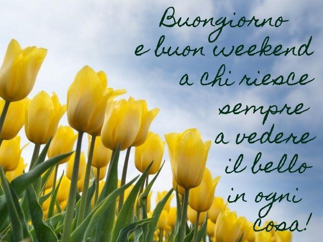 buon fine settimana frasi