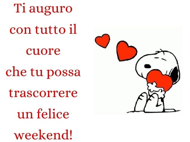 buon weekend al mare