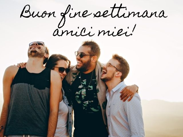 buon weekend gif animate