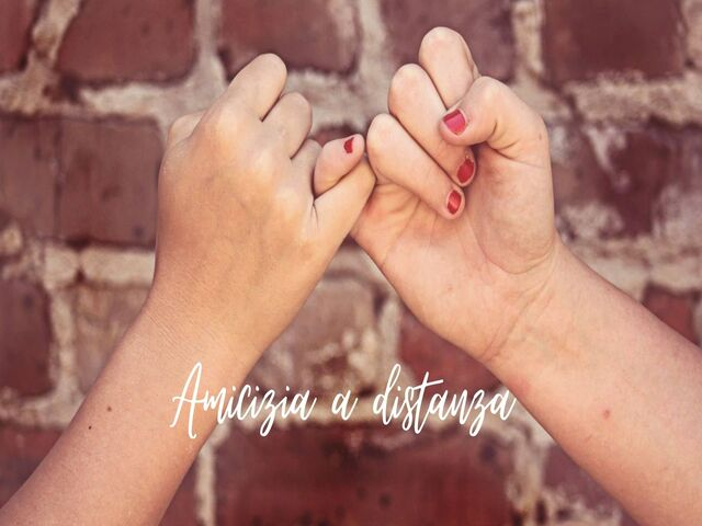 frasi famose amicizia a distanza
