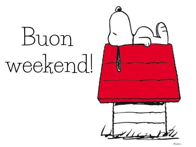 immagini buon week end