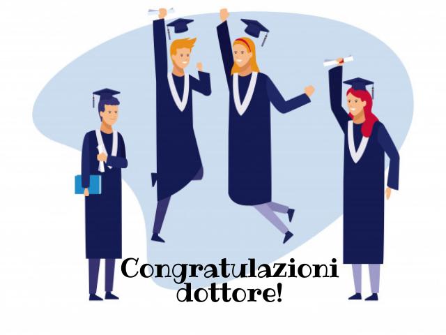 auguri di laurea