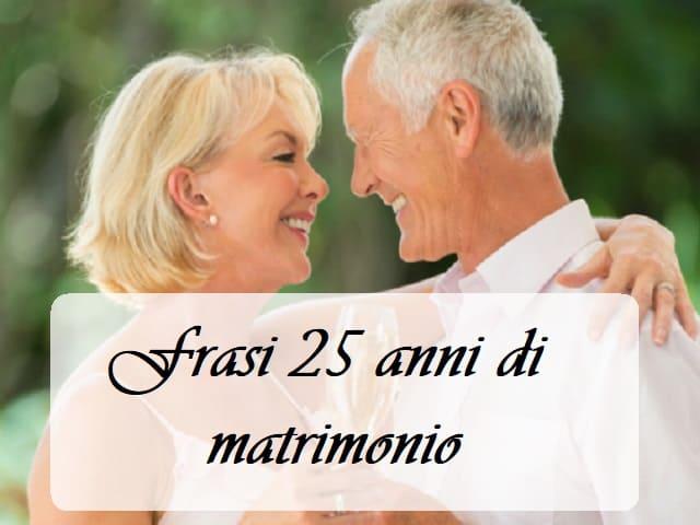 frasi 25 matrimonio