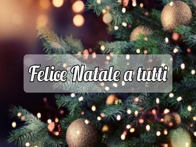frasi di auguri di Buon Natale