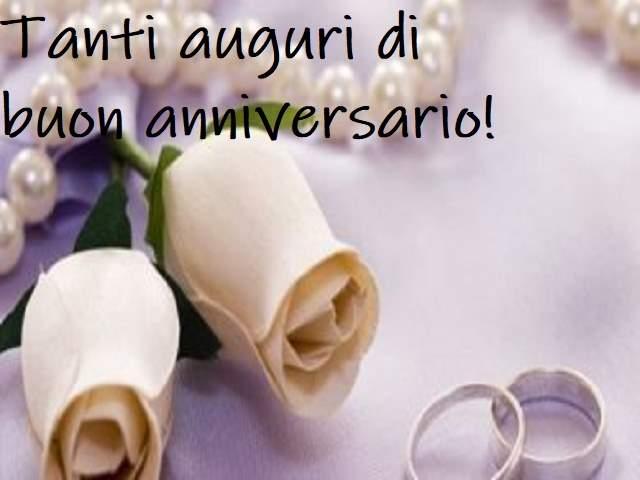 frasi di auguri per anniversari di matrimonio