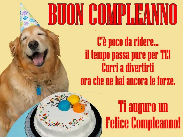 frasi di compleanno per un amico divertenti