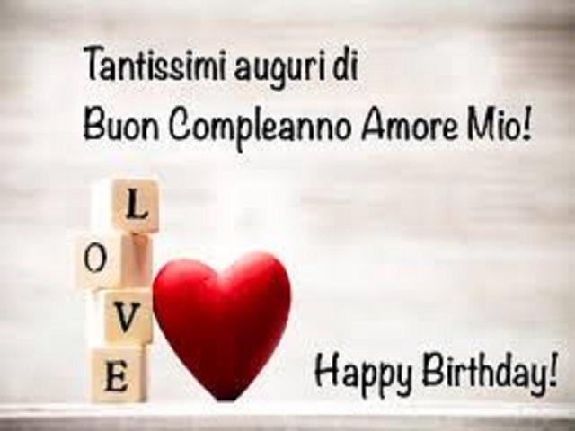 immagini buon compleanno amore 1