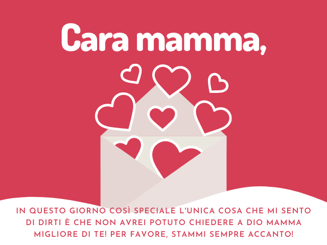 lettera a mamma