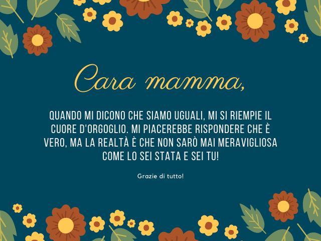 lettera a una mamma