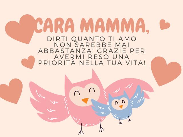 lettera per mamma