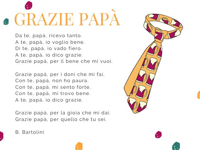 poesia per il papà in rima
