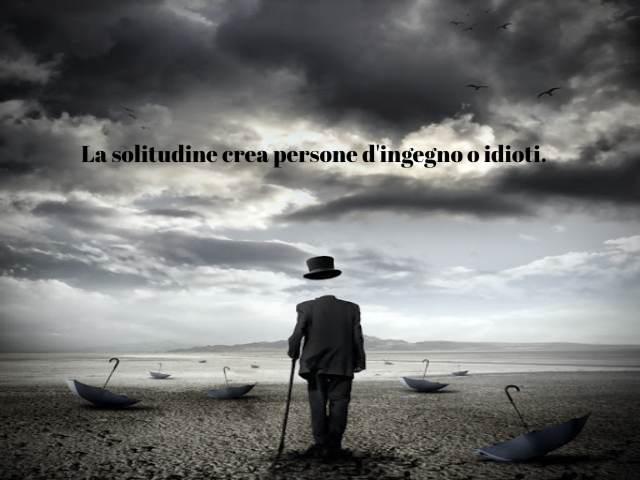 bisogno di solitudine
