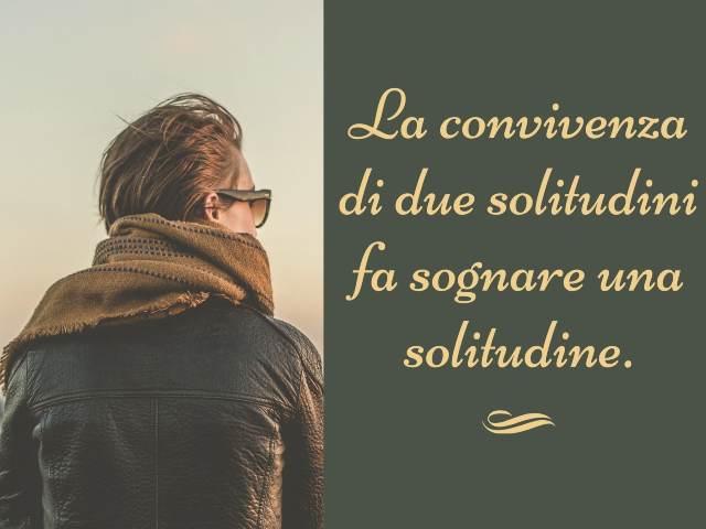 frasi di solitudine e tristezza