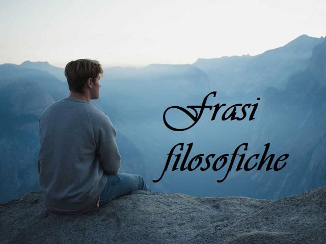 frasi filosofiche