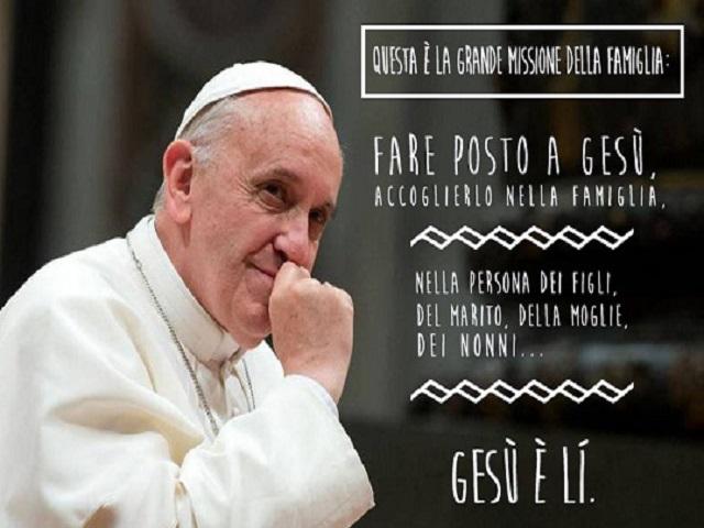 frasi di papa Francesco sulla famiglia