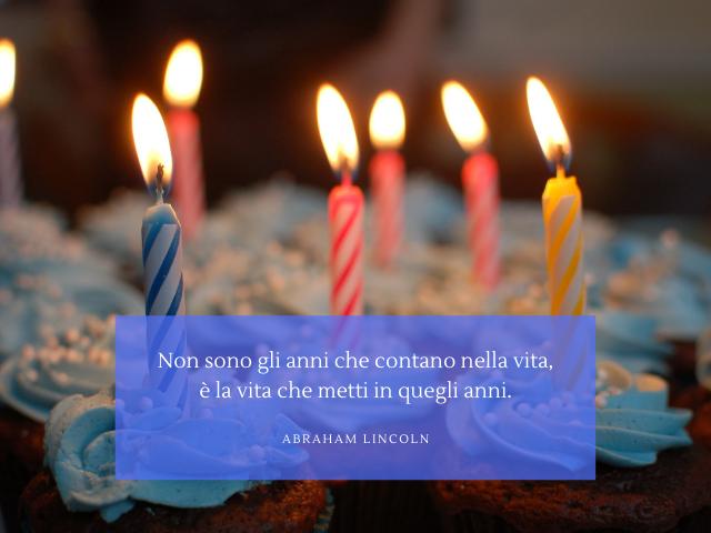 frasi belle per compleanno
