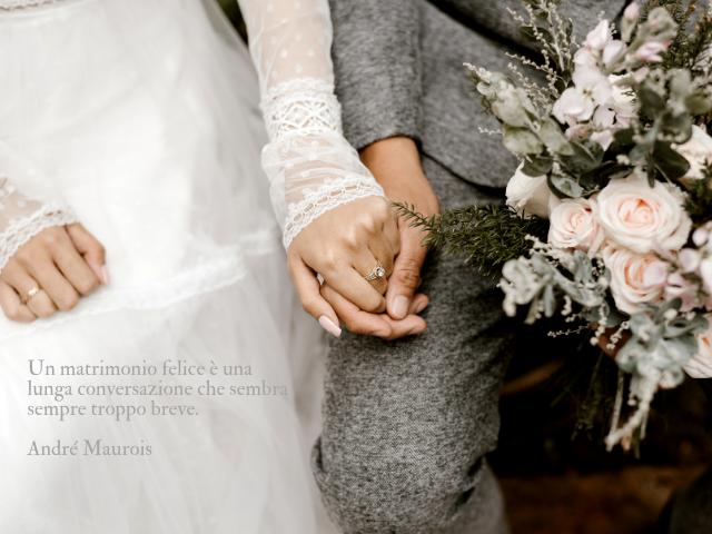 frasi belle per matrimonio