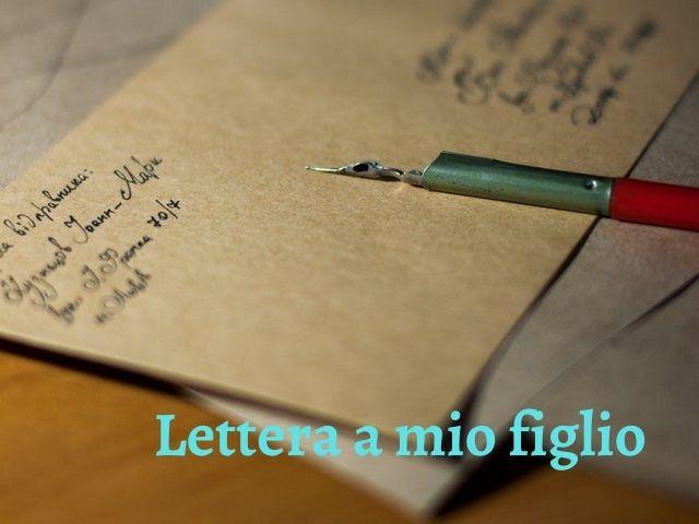 1 lettera ad un figlio