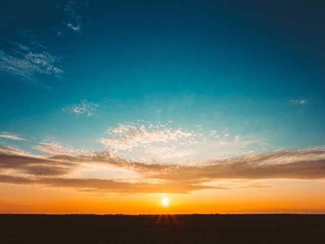 colori tramonto