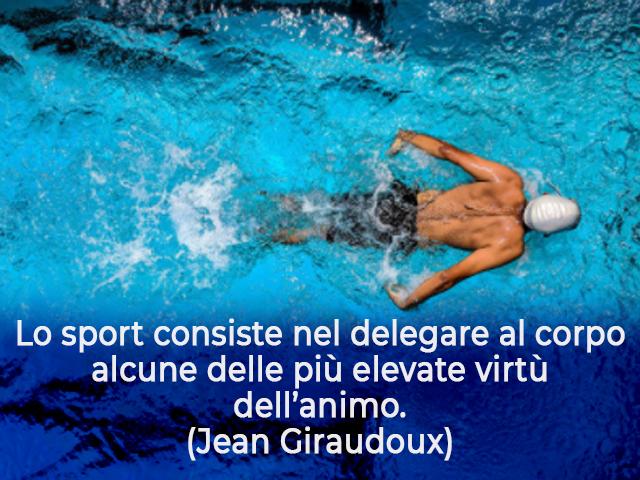 frasi sullo sport nuotatori