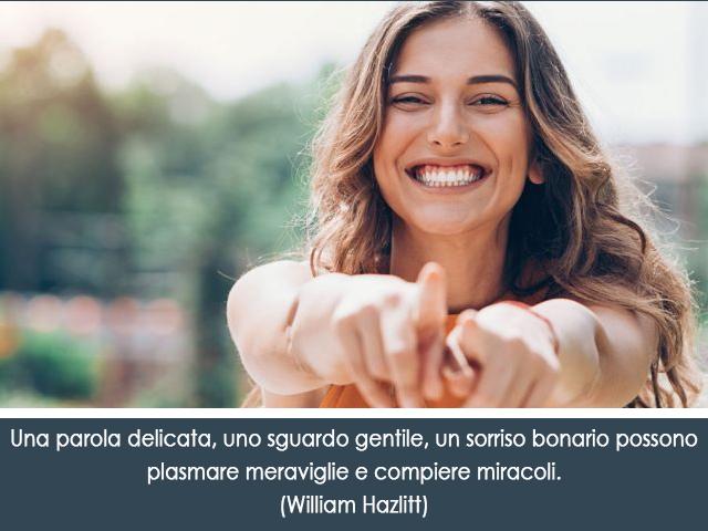 sorriso di una donna