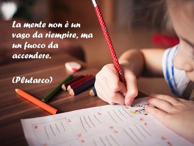 citazioni sull'educazione dei bambini