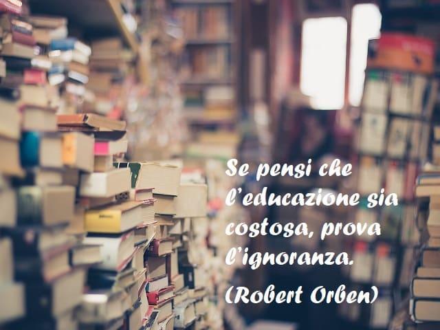 citazioni sull'educazione
