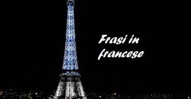 frasi francese