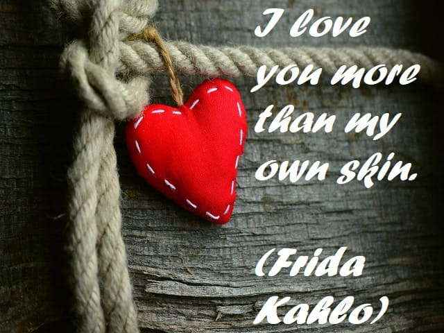 frasi in inglese d'amore