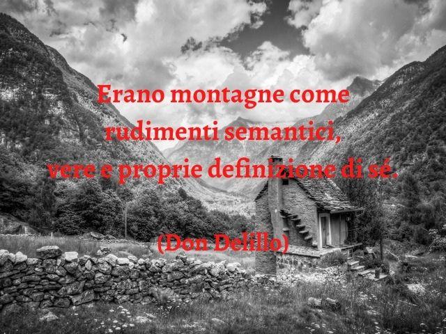 frasi su montagna