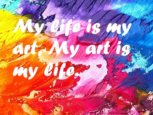 frasi sull'arte in inglese
