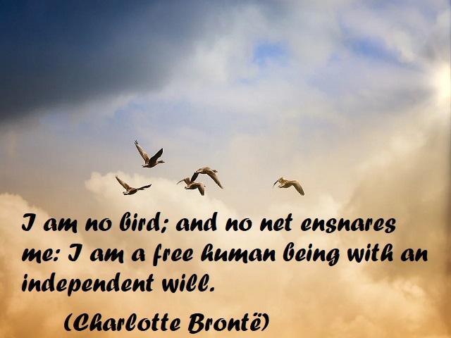 frasi sulla libertà in inglese