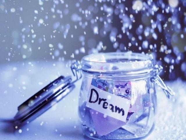 frasi in inglese sui sogni