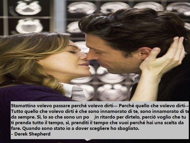 frasi amore greys anatomy